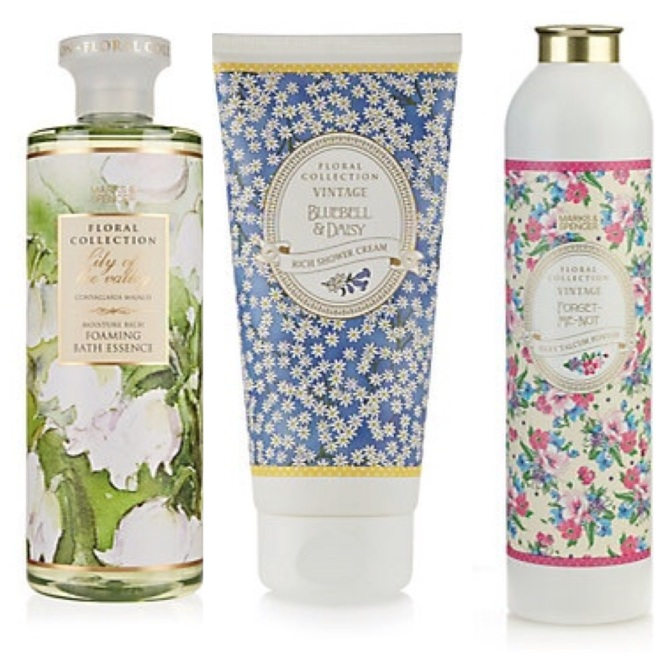 marks and spencer floral collection